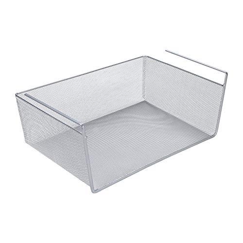 LaCyan cestas Colgantes metálicas bajo estantes Organizador Cocina Armario para Armario armarios Cocina