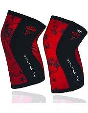 Rodilleras BANBROKEN (2 unds) - 5mm Knee Sleeves - Gimnasio, Deporte Funcional, Crossfit, Levantamiento de Pesas, Running y Otros Deportes. 1 PAR - Unisex.