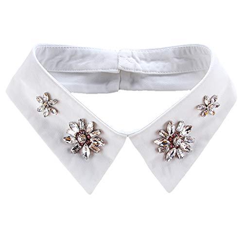Collana Staccabile Per Collana Girocollo Di Peter Pan Con Colletto Falso - bianca, come descritto