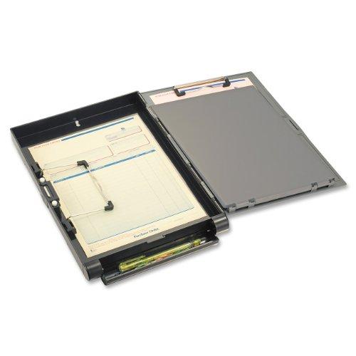 OIC Klemmbrett-Box (mit großem A4 Aufbewahrungsfach, seitlich öffnend)