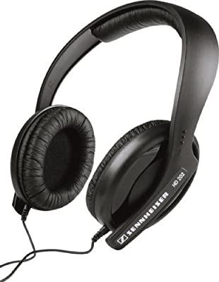 Sennheiser HD 202 II Professional Headphones (Black) from Sennheiser