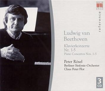 Ludwig Van Beethoven: Piano Concertos Nos. 1-5 (Rosel, Berlin Symphony, Flor)