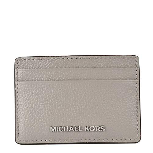 Michael Kors Jet Set, Funda para tarjetas. para Mujer, gris perla, Einheitsgröße