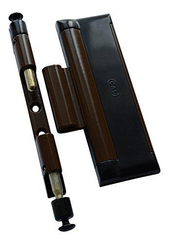 CAL DOUBLEX XL, para seguridad de puerta y ventana, protección contra robos, cerradura de ventana - 2 pestillos de acero