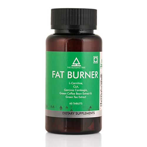 The Blessing Tree Fat Burner High Potency-1200 mg with L-Carnitine, CLA, Garcinia Cambogia, Green Coffee Beans and Green Tea Extracts-60 Tablets