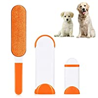 🐶Easy to Use and Clean: Are you troubled by sticky hair on clothes, furniture, bed sheets, car interiors, etc.?You only need to gently sweep the hairy surface with the hair removal brush to get it clean. When the brush is covered by hair, insert the ...