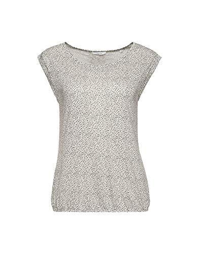 OPUS Damen Strolchi dot T-Shirt, Light Nature, 38