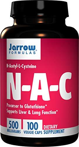 Jarrow Formulas Jarrow N-A-C (500mg, 100 Capsules), 1 Units