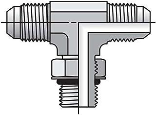 Parker Triple-Lok - Straight Thread Branch Tee 37° Flare / 37° Flare / SAE-ORB