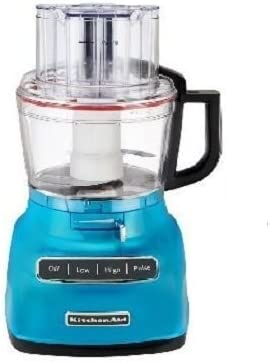 Amazon Com Kitchenaid Rkfp0930cl 9 Cup Food Processor With Exact Slice System Renewed Crystal Blue Kitchen Dining