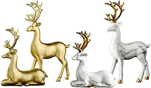 ZCYY Adorno de Escultura, decoración de Escultura de Estatua, decoración del hogar...