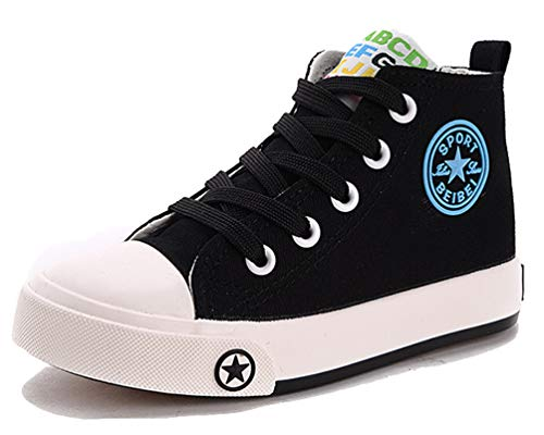 Converse unisex-child Chuck Taylor All Star Low Top Sneaker, Black, 2 M US Little Kid