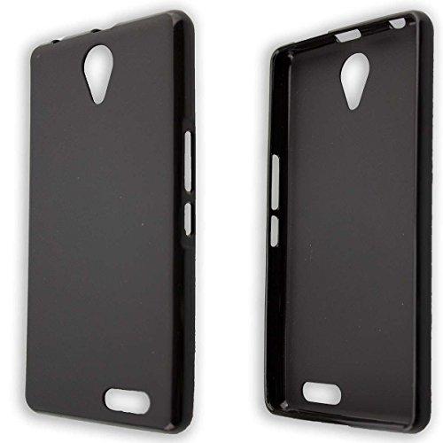 caseroxx TPU-Hülle für Medion Life E5020 MD 99616, Handy Hülle Tasche (TPU-Hülle in schwarz)