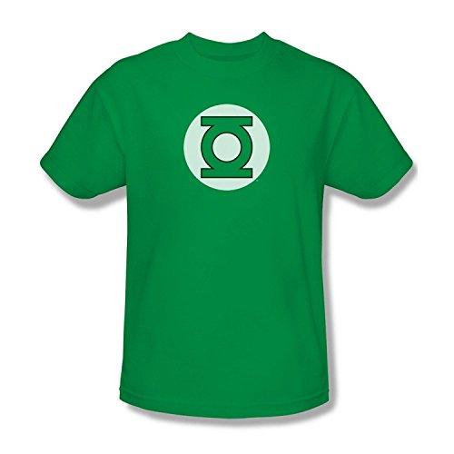 Green Lantern Superheroes DC ComicS Hunter Green Tee T-Shirt - Medium