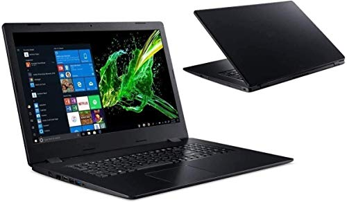 Laptop Aspire A317 - Intel Dual Core - 8GB-RAM - 2000GB SSD + 2000GB HDD - CD/DVD Brenner - Windows 10 Pro + MS Office 2019 Pro - 44cm (17.3') WXGA