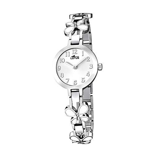 Lotus Reloj Analógico para Niñas de Cuarzo con Correa en Acero Inoxidable 15829/1
