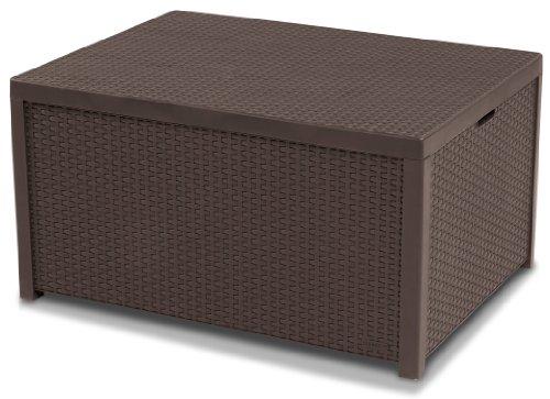 Allibert by Keter Arica Outdoor Storage Box - Brown