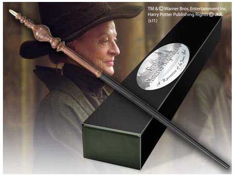 HARRY POTTER Noble Collection Bacchetta Magica di Minerva Mcgranitt