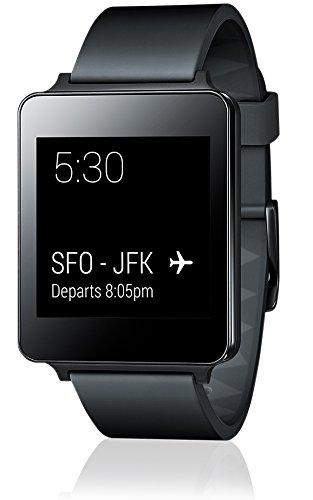 LG G Watch (1,2-GHz-Qualcomm-Prozessor, 4GB Speicher, micro-USB, Bluetooth 4.0) schwarz