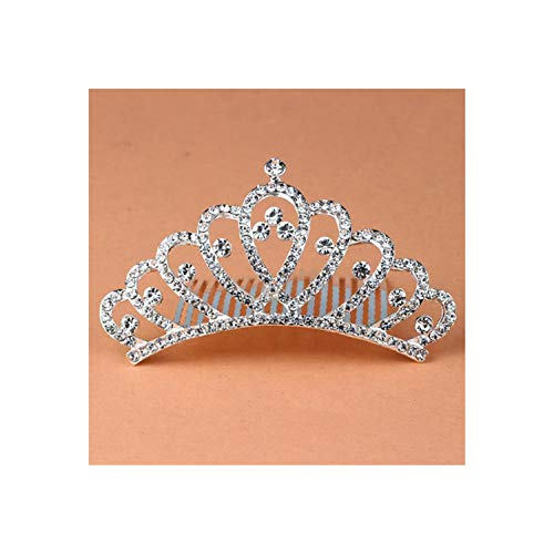 12 STYLE Nieuwe Prinses Kroon Tiara Bruid Tiaras En Kronen Bruids Bruiloft Haaraccessoires Kam 1
