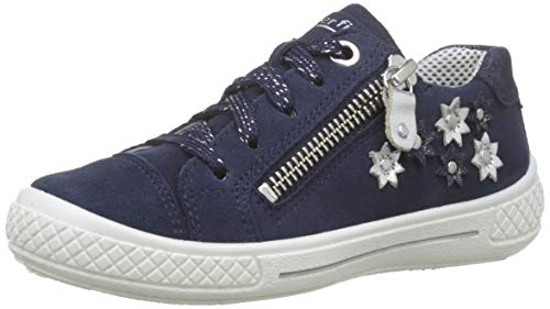 Superfit Mädchen Tensy Sneaker, Blau (Blau 81), 27 EU