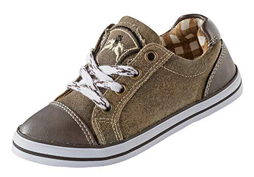 MADDOX Kinder Sneaker Nepomuk – Braun Gr. 25