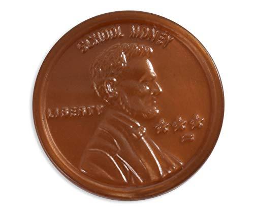 PLASTIC COINS 100 PENNIES