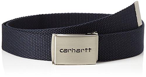 Carhartt Unisex Clip Gürtel, Blu (Dark Navy), Herstellergröße:Einheitsgröße