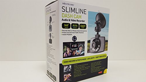SOUNDLOGIC Slimline Full HD Dashcam Webcam
