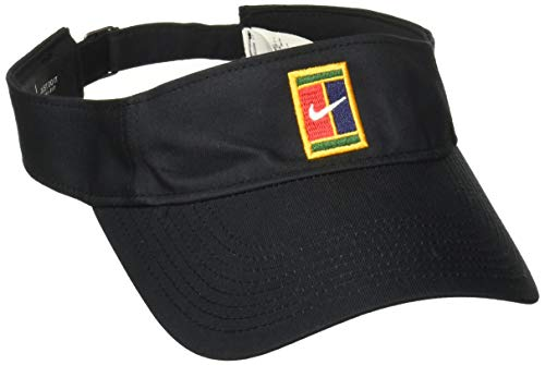 Nike U NK Visor Court Logo Hat, Black, MISC