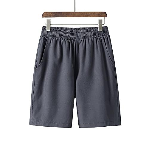 Huposdxjmdk Pantalon Corto Hombre Deporte, 1 unid Shorts Hombres Pantalones Cortos de algodón Puro Hombres Transpirables cómodos Deportes Pantalones Cortos Casuales Shorts Hombres más tamaño