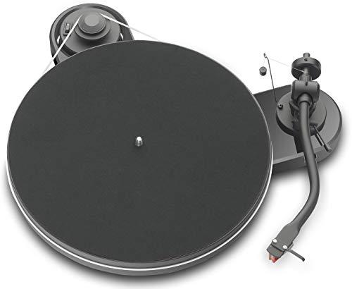 Pro-Ject RPM 1.3 Genie, Audiophiler Plattenspieler mit 2M Red, Piano Schwarz