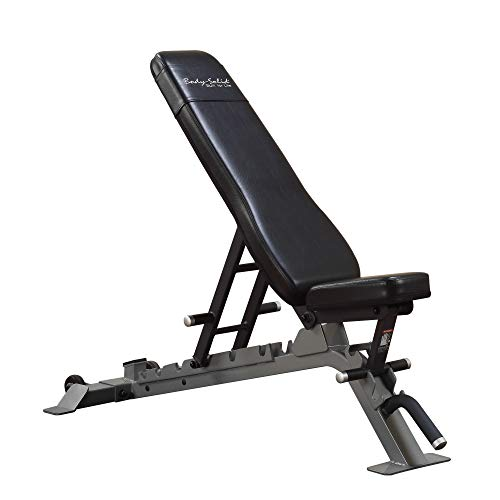 Body-Solid SFID325 Pro Clubline Adjustable Bench for Power Racks and Dumbbell Curls, Home and Commercial Gym Nebraska