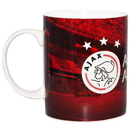Taza de cerámica oficial de AFC Ajax Amsterdam Football Crest 11oz