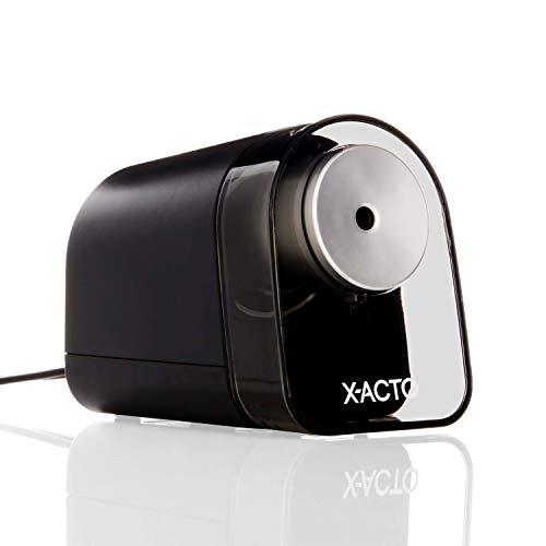 XACTO Pencil Sharpener XLR Electric Pencil Sharpener Pencil Saver SafeStart Motor Black 1 Count
