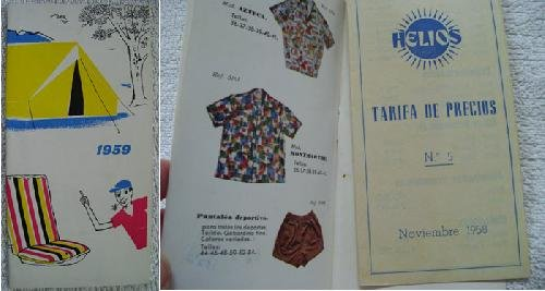 Catálogo - Catalog : ARTÍCULOS DE DEPORTE, CAMPING Y PLAYA DE HELIOS....