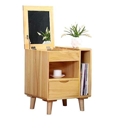 FTFTO Productos para el hogar Mesa Auxiliar de Madera Sofá de cabecera de 1 Nivel Mesa Auxiliar con cajón Muebles para el hogar Multiusos