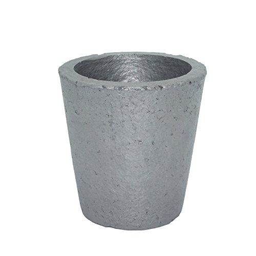Schmelztiegel für Gießerei Siliziumkarbid/Graphit Schmelzen Gießen Veredelung Gold Silber Kupfer Messing Aluminium