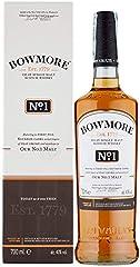 Bowmore No.1 Malt Whisky Escoces, 700ml