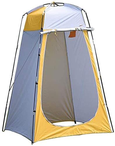 ZHJ Pop Up de privacidad Tienda de ducha instantánea PortableTent Changing Room Lluvia refugio con ventana for camping y playa  Fácil de configurar, plegable con bolsa de transporte  ligero y robust