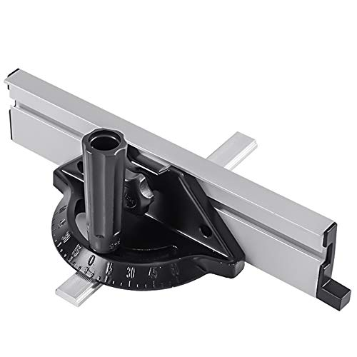 ZXCVB Precision Miter Gauge, Miter Gauge Table Saw Router Mitre Fence for Table Saw Router Sawing Assembly Ruler, for Woodworking