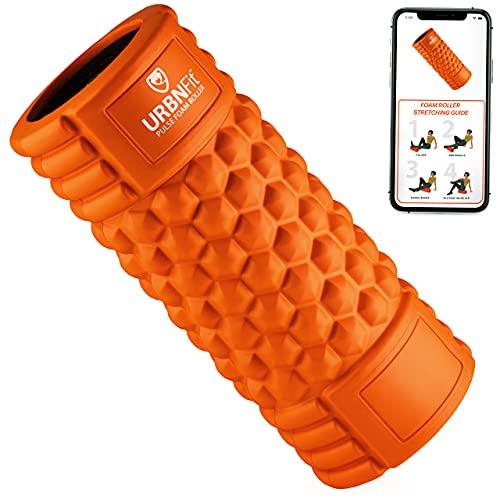 URBNFit Vibrating Foam Roller 5-Speed Massage & Exercise Body Roller - Deep Tissue Trigger Point...