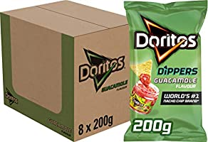 Doritos Tortilla Chips Guacamole, Doos 8 stuks x 200 g