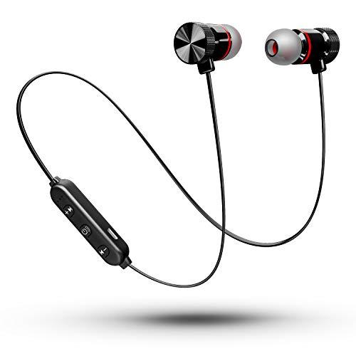 令和進化版 ワイヤレス イヤホン Bluetooth イヤホン スポーツ IPX7防水 マグネット搭載 Hi-Fi高音質 最新bluetooth 5.0+EDR搭載 AAC対応 CVC8.0ノイズキャンセリング ブルートゥース イヤホン マイク付き ハンズ