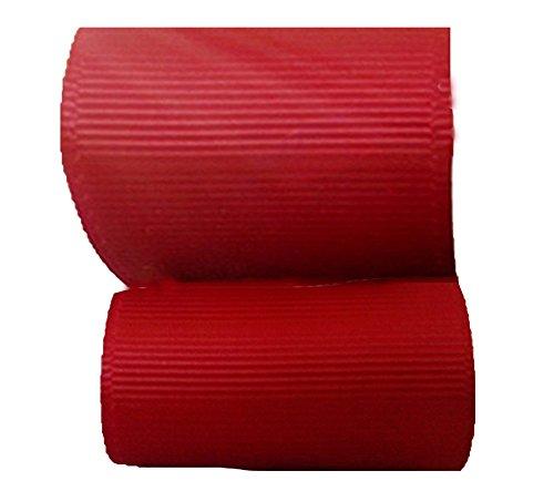 1M 3M 5Mカット 10MM巾グログランリボン MFFS1039 グログランテープ 裁縫 手芸用品 手芸材料 趣味 服飾 (1M, レッド)