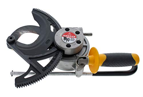IDEAL Electrical 35-076 Cable Cutter – 1250 MCM, Wire Cutting Tool w/ Rounded Blade Design, 3.5 in. Jaw Opening