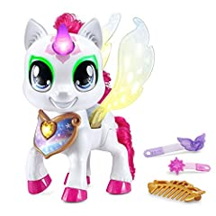 Touch Mia's magical necklace to choose a color; tap her horn, eyes and wings to decorate them with that color Mia has more than 100 fun, magical responses; interact with her to explore lucky colors and hear about her mood, feelings and more Flap Mia'...