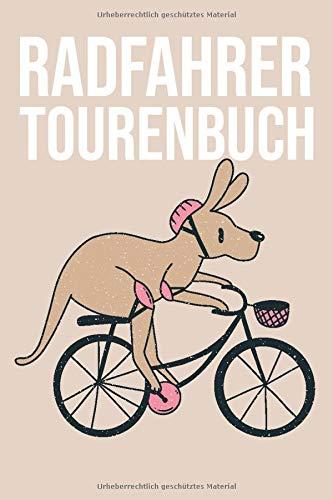 Radfahrer Tourenbuch: Tourenbuch und Tagebuch für Fahrradfahrer und Biker mit einem E-Bike, MTB oder Trekkingrad - Platz für 50 Radwege