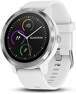 "GARMIN - Smartwatch GARMIN Vivoactive 3 1,2"" GPS Waterproof 5 ATM Glonass White Stainless steel"