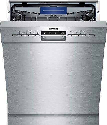 Siemens SN436S00LE iQ300 Unterbau Geschirrspüler / E / 94 kWh / 13 MGD / varioSpeed Plus / Glas 40° Programm / varioSchublade / varioFlex-Korbsystem